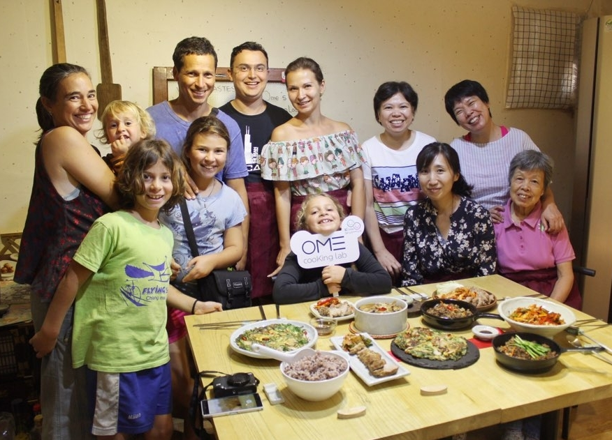 OME Korean Cooking Class