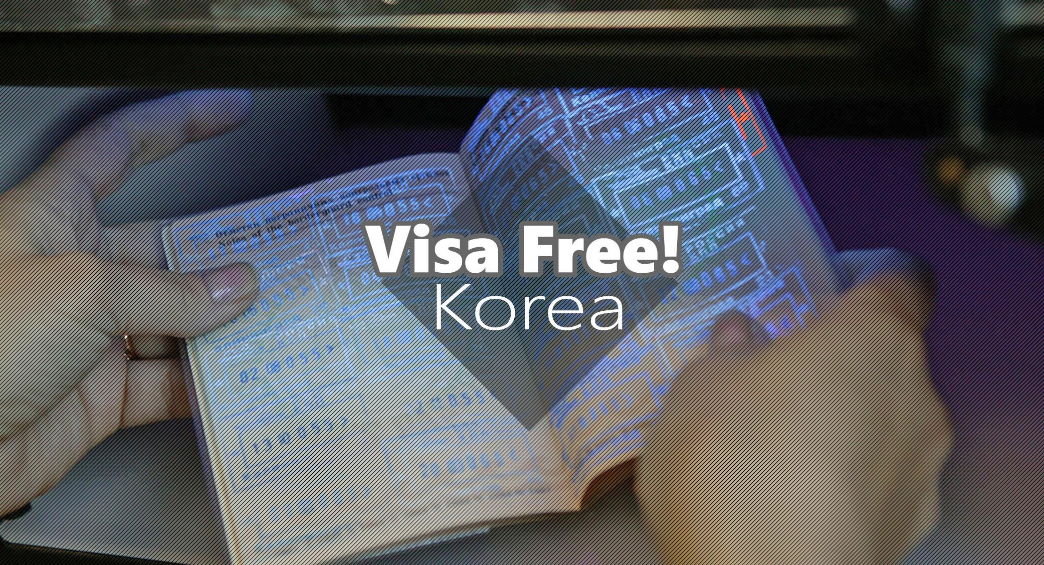Korea Visa-free