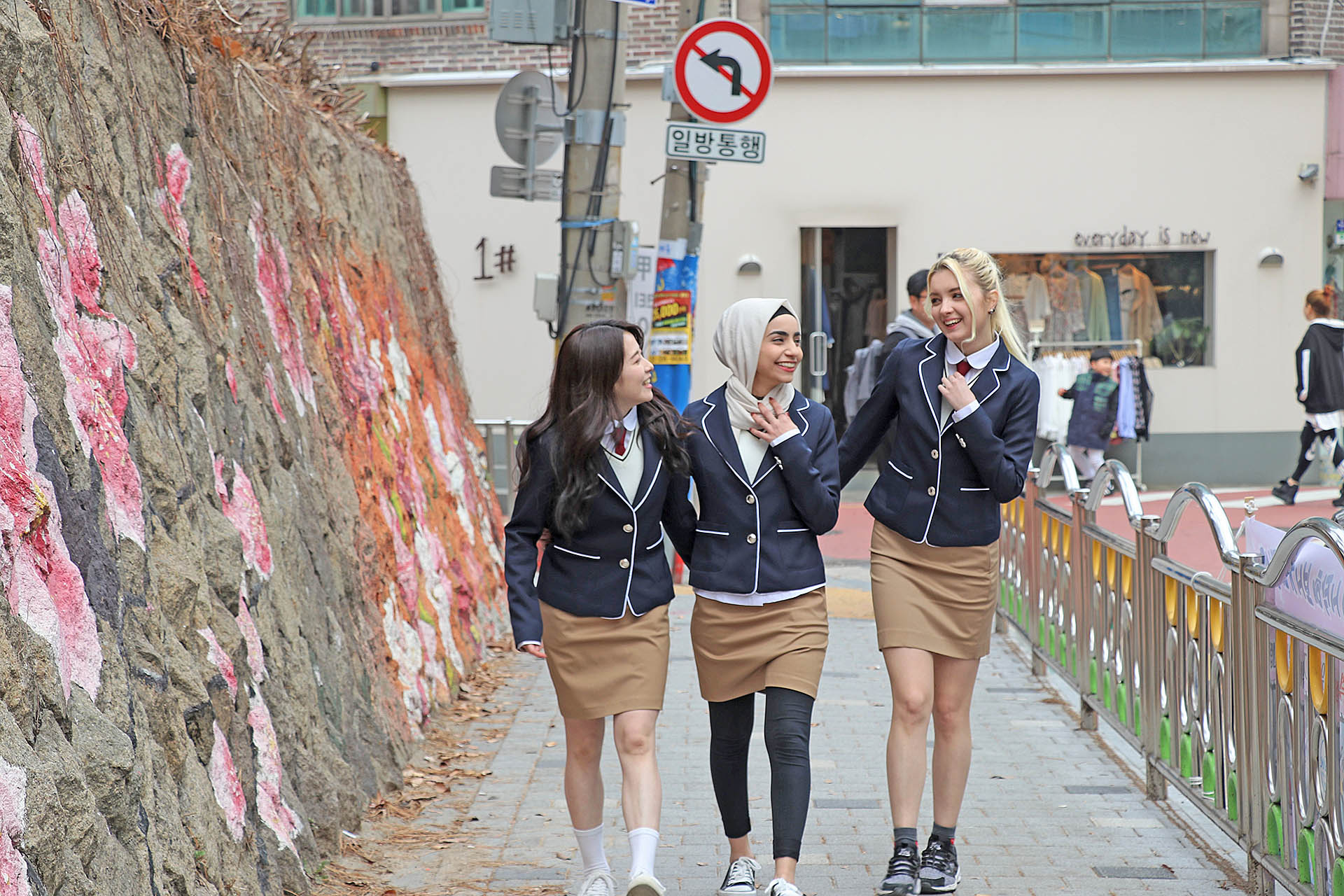 Korean School Uniform Photo Snaps - Hongdae Area | HaB ...