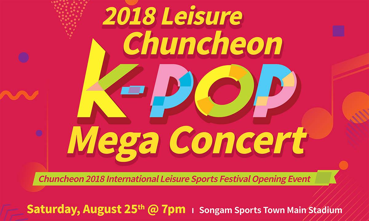 2018 Chuncheon KPOP Mega Concert new