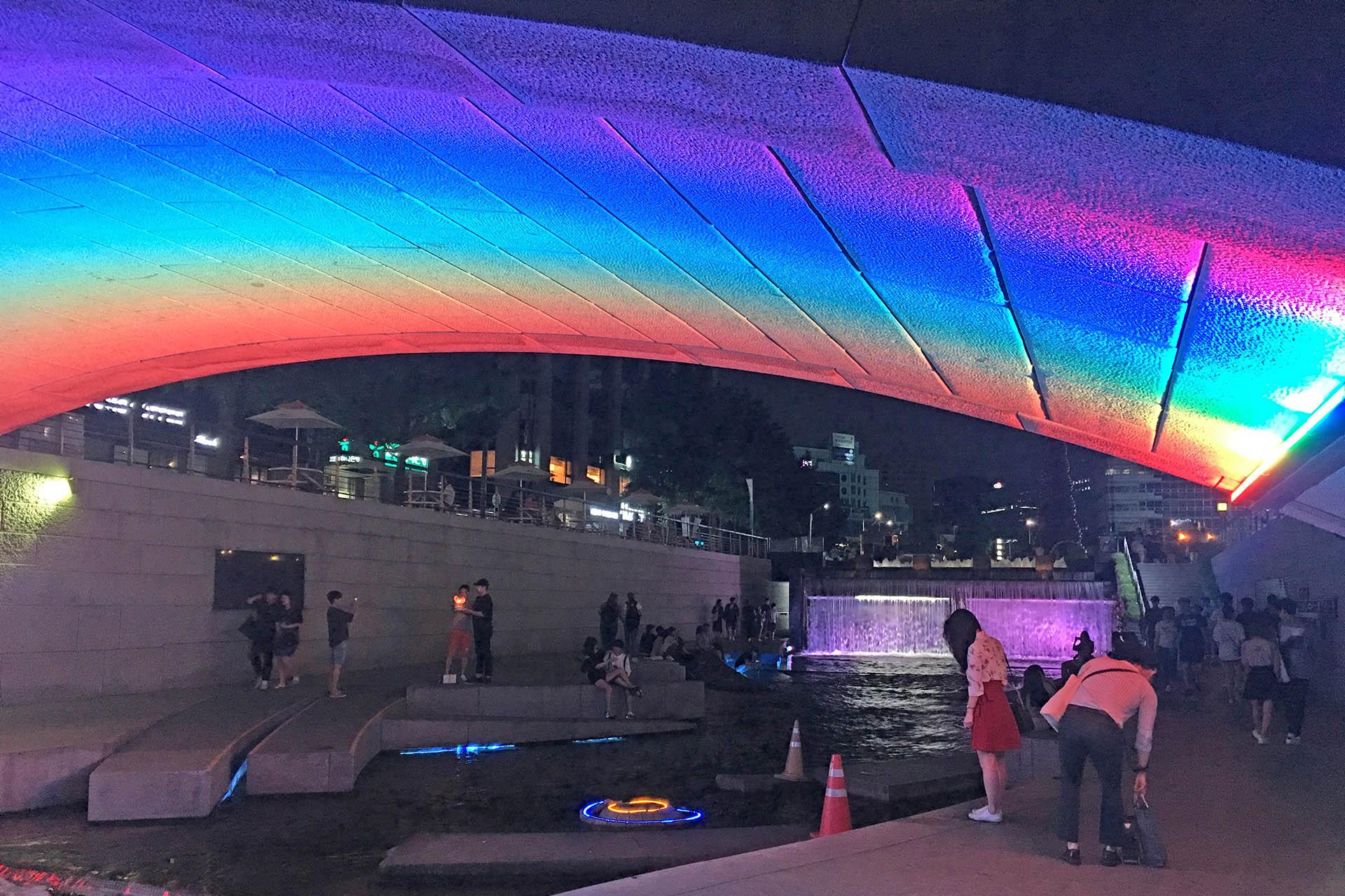 Cheonggycheon Night Walk