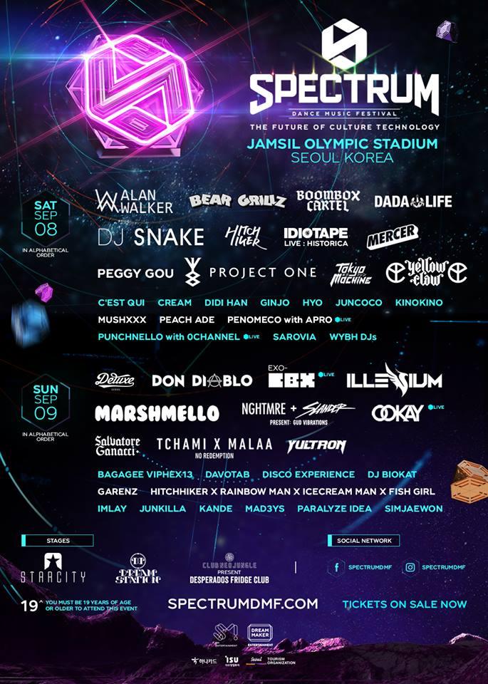 Spectrum Music Festival