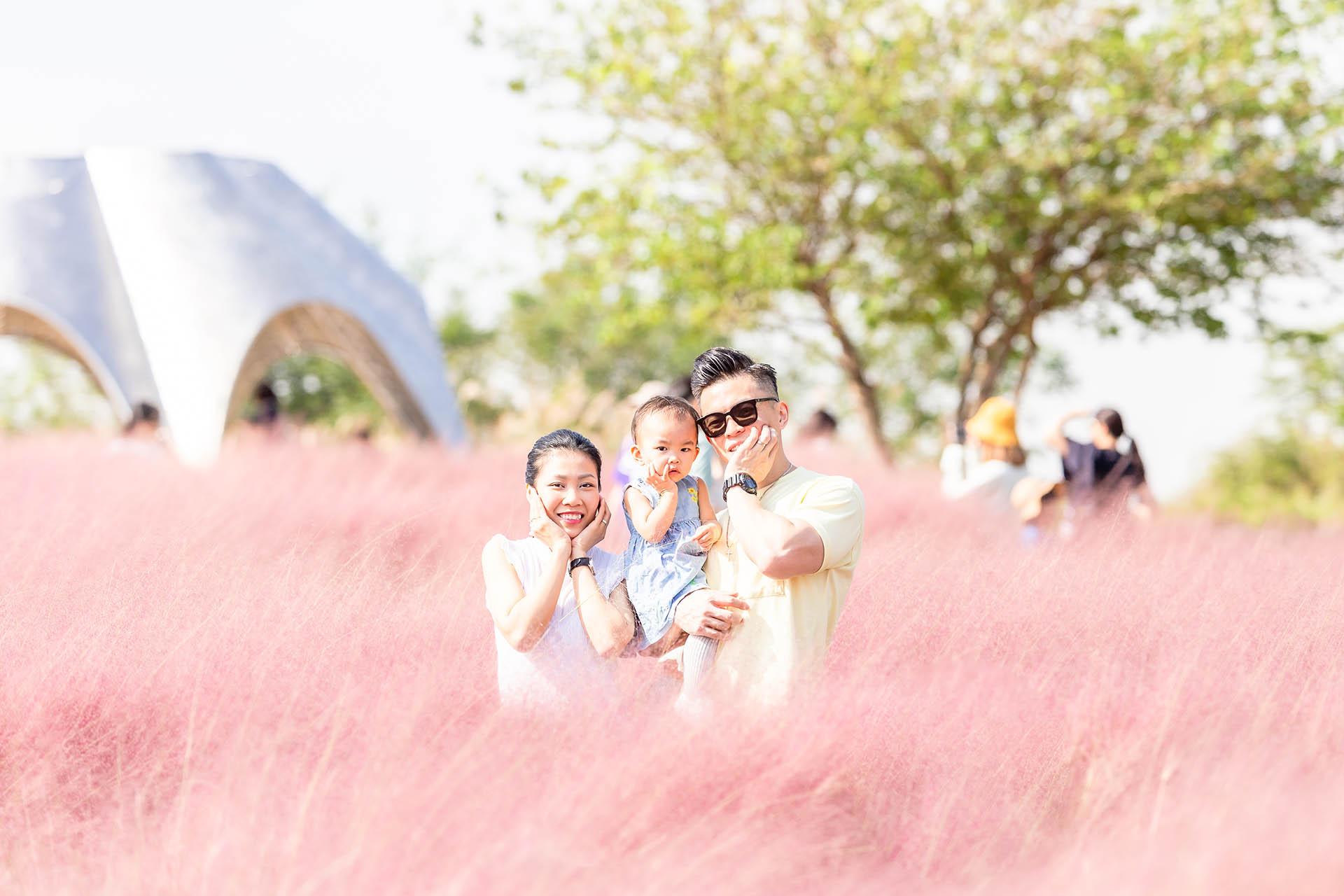 Pink Muhly Photoshoot