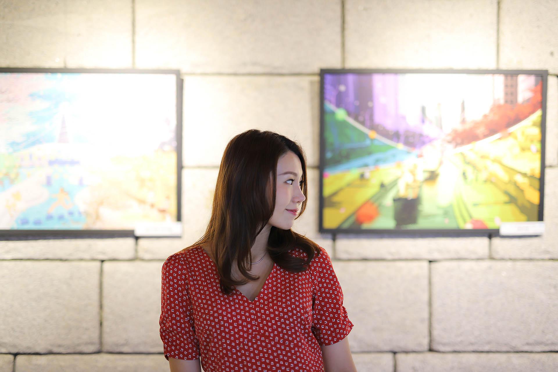 Cheonggyecheon Stream Night Snaps