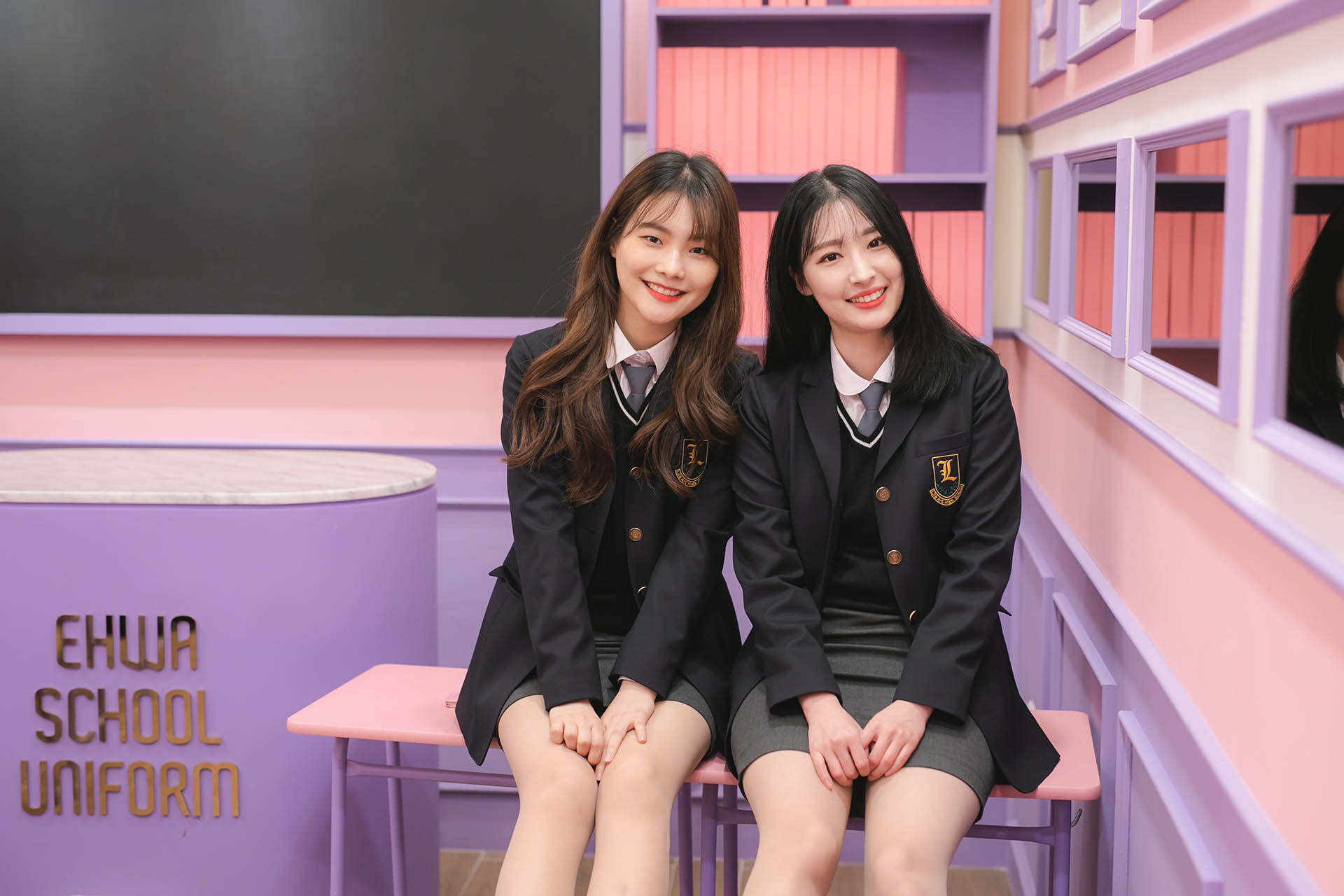 School Uniform rental getting a hot trend in Korea – EHWA SCHOOL