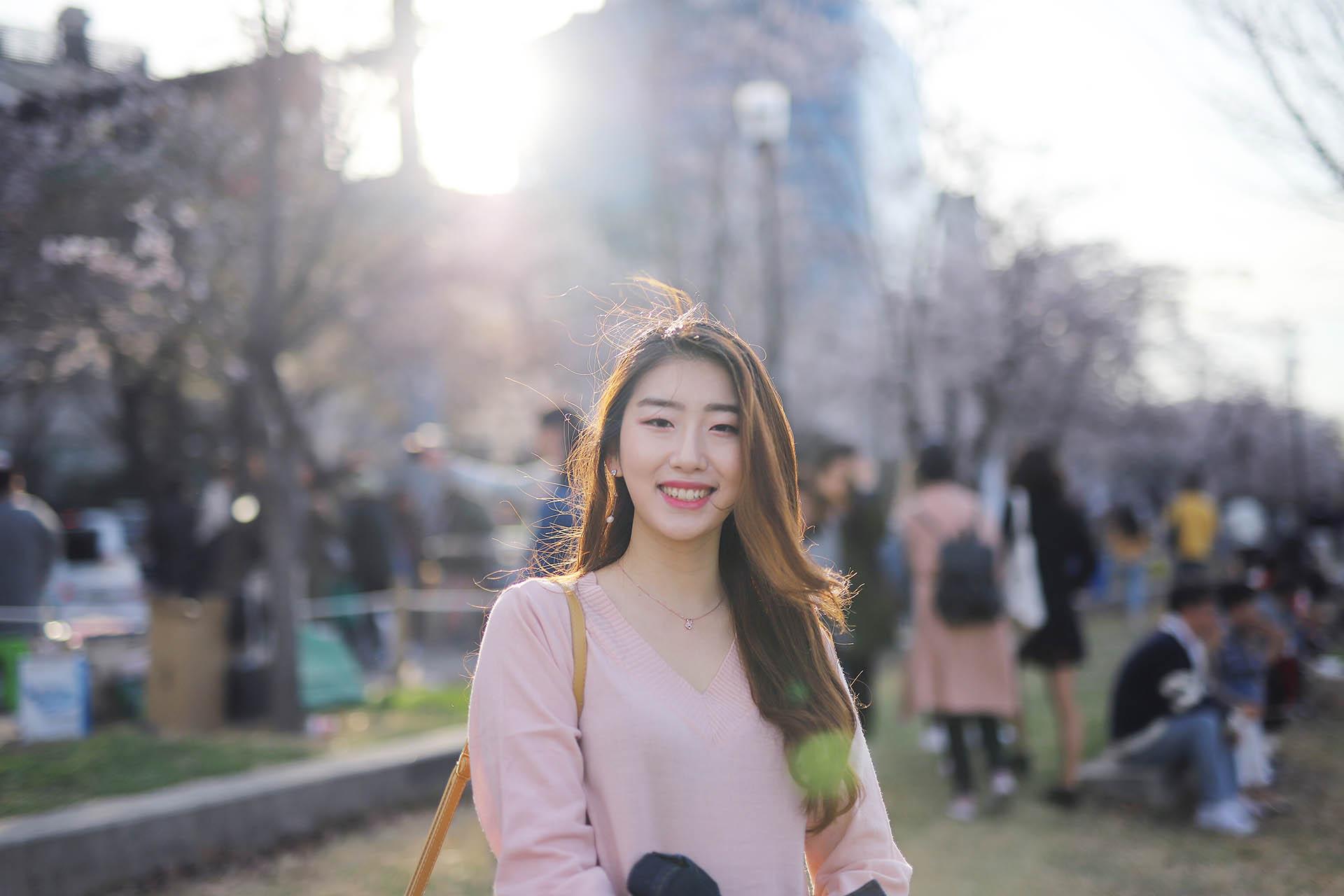 Korea Cherry Blossom Snap Photoshoot